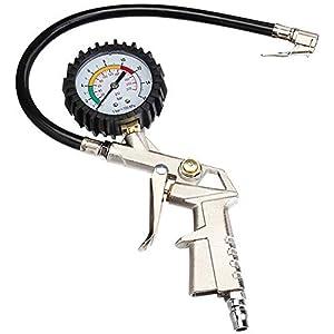 Xinlie Manometro Presion Neumaticos Medidor Presion Neumaticos Manómetro Detección de Presión de Neumático para Ruedas…
