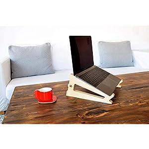 Laptop-Ständer/Macbook-Ständer/Computerständer / Laptop-Fach/Laptophalter / PUKA BIRKE
