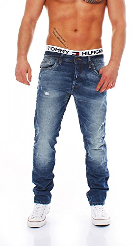 JACK & JONES - Jeans da uomo, blu (denim), 31W x 34L