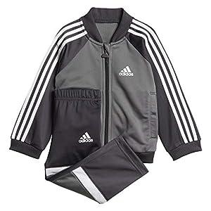 adidas Unisex Baby Shiny Trainingsanzug