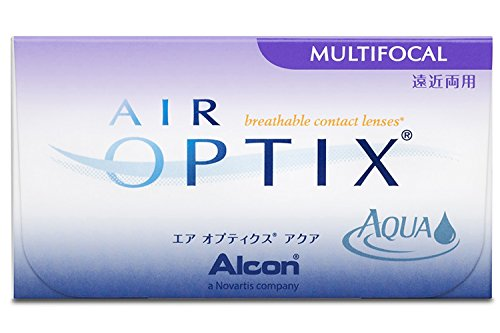 Air Optix Aqua Multifocal Monatslinsen weich, 6 Stück / BC 8.6 mm / DIA 14.2 mm / ADD LOW / 0,00 Dioptrien
