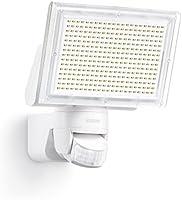 Steinel Sensor LED-Strahler XLED Home 3 weiß, EEK A, LED-Scheinwerfer mit 140° Bewegungsmelder und max. 14 m Reichweite, 1426 Lumen Helligkeit dank 330 LEDs, 582210