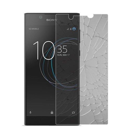 betterfon | Panzerglas Bildschirm Schutz Echt Glas Panzer Folie Schutzglas Tempered Glass 9H Echtglasfolie Bildschirmschutzfolie für Sony Xperia L1