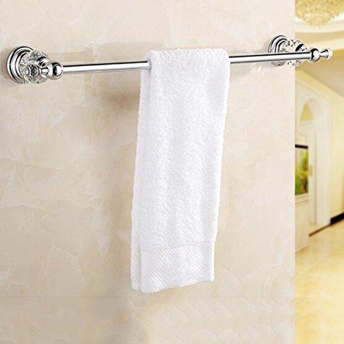 FOKN Titan Kupfer Gold Europa Einpoligen An Der Wand Bad Küche Handtuchhalter,A (Europa Drei-licht-anhänger)