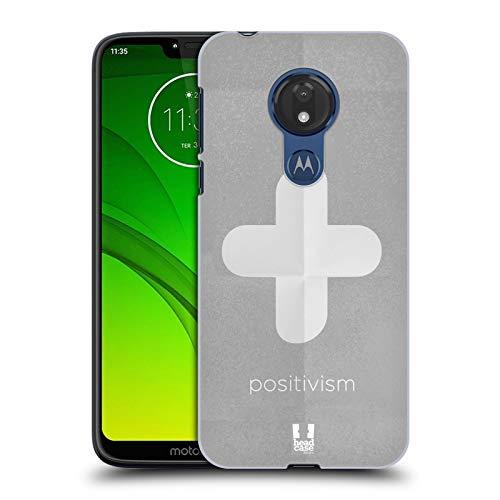 Head Case Designs Positivismus Philography Ruckseite Hülle für Motorola Moto G7 Power