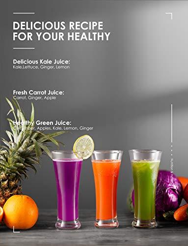 Zentrifugaler Entsafter für Gemüse und Obst Bild 5*