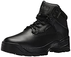 5.11 Tactical Mens a.T.a.C. 6 Storm Fire and Safety Boot, Black, 4 Medium US