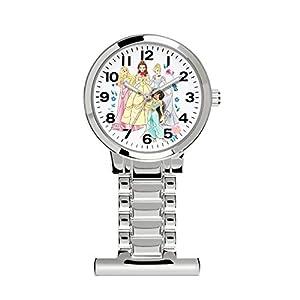 Disney Princess Women's Analogue Quartz Watch with Metal Strap PN3000ARG