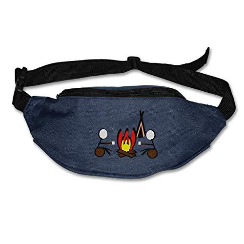 Waist Bag Fanny Pack Summer Camp Pouch Running Belt Travel Pocket Outdoor Sports