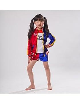 Little Monster T-Shirt Jacke Shorts Kinder Größen Cosplay Kleidung von Kinder 2Jahre bis 10Jahre