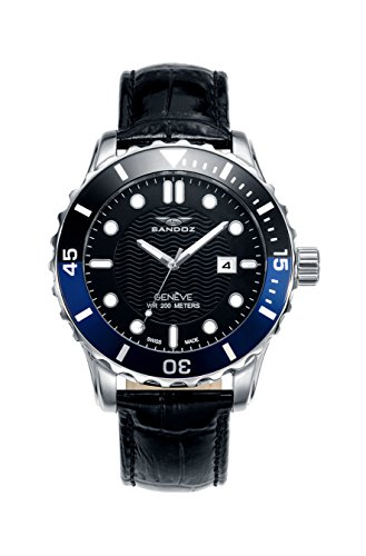 Montre Suisse Sandoz Hommes 81397 - 57 Diver Collection
