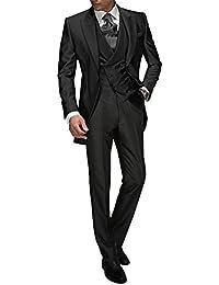 Suit Me Tailored Men Suit 3 piezas de traje de chaqueta de smoking chaqueta  de la c9e70c7e3de
