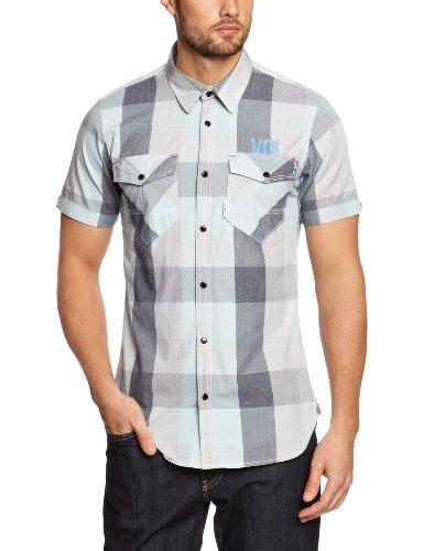 Voi Herren Shirt Blau - Dark Blue/Egret