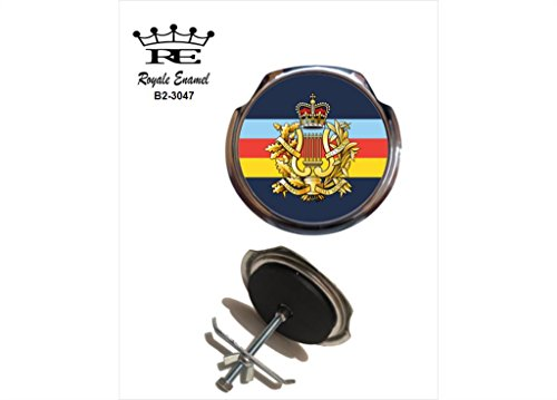 Preisvergleich Produktbild Royale Emaille Royale Car Grill Badge – Corps of Army Musik Camus TRF-B2. 3047