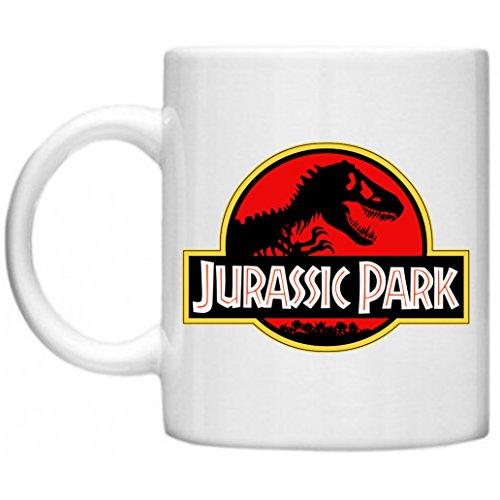 Jurassic Park T-Rex Skeleton Logo Mug