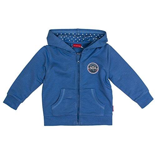 -Jungen Jacke B Jacket Pirat Kap. Uni, Blau (Blue Melange 448), 92 (Herren Piraten Outfit)