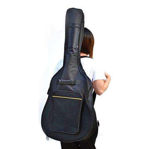 TRIXES Funda acolchada de guitarra clásica y acústica de tamaño completo