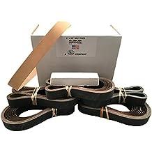 """1""""X30"""" (2.5cm x 76,2cm) para afilar Belt Pack–120, 400, 600, 800, 1000& Cinturón de cuero w compuesto"""