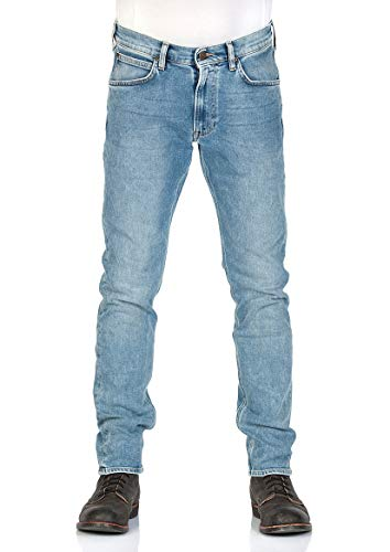 Lee Herren Relaxed Fit Jean (Lee Herren Jeans Luke Slim Tapered Fit lang Stoned Blue (81) 28/32)