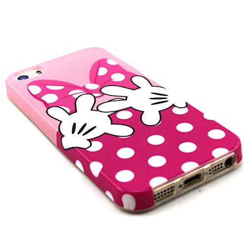 Voguecase® für Apple iPhone 5C, Schutzhülle / Case / Cover / Hülle / TPU Gel Skin (NEW YORK) + Gratis Universal Eingabestift Mini Bowknot 02