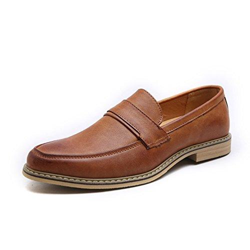 Qianliuk Männer Kleid Loafers Business Oxfords Schuhe
