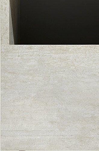 Wohnwand Anbauwand mit Lowboard 3-teilig 543687 betonfarben - 5
