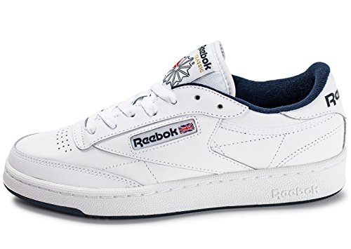 reebok-herren-club-c-85-hallenschuhe-mehrfarbig-white-navy-42-eu