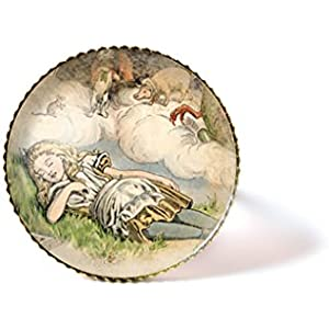 Ring mit Cabochon ° Alice im Wunderland °