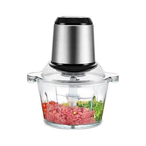 Preisvergleich Produktbild Ysss Doppelfeile Fleischwolf Multifunktions-Edelstahl-Mixer Home Commercial Twist Füllung Twisted Pepper Twisted Knoblauch Knoblauch-Maschine