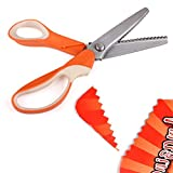 Arpoador traité Couture professionnels Couture cranter Cisailles Ciseaux Ciseaux Zig Zag Craft Cut