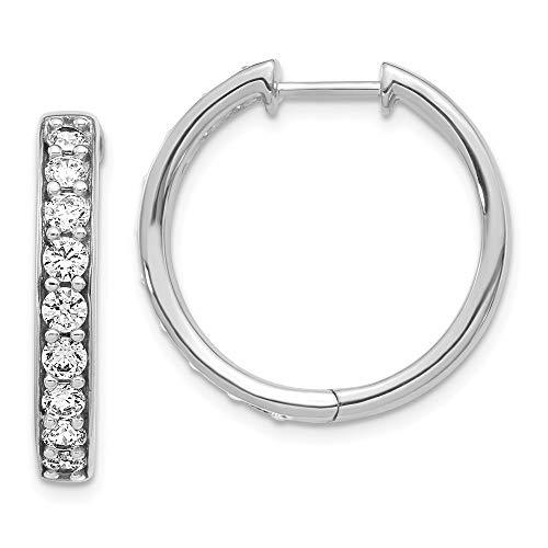 179b2fd73e66 14k-gold-hoop-earrings the best Amazon price in SaveMoney.es
