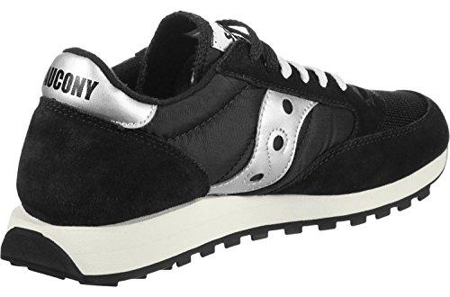 Saucony Herren Jazz Original Vintage Black/White 810 Sneaker, Schwarz Schwarz / Weiß