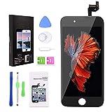 YoSuDa Display für iPhone 6s Bildschirm Schwarz,LCD Touchscreen Ersatz Komplettset mit Werkzeugen für iPhone 6s Display 4.7 Zoll (iPhone 6s Schwarz)