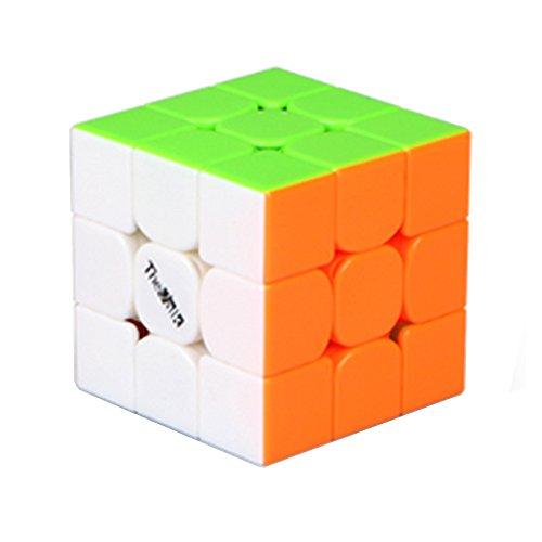 MZStech Neu Valk 3 Mini magischer Würfel 3x3x3 Aufkleber Puzzlewürfel (Farbe) - 3 X 3 Mini