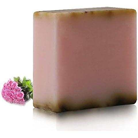 F&HY&L SAPONE alla lavanda secchi contenenti fiori secchi sapone handmade controllo pelli grasse 3 * 100g