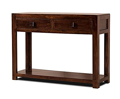 Dark Indian Mango Furniture - Console Table