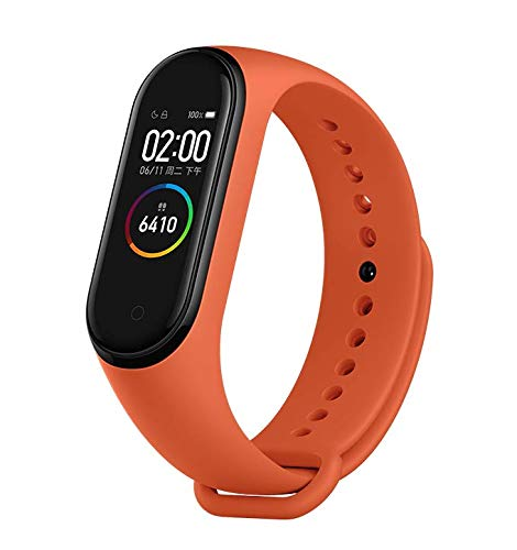 Rewy DM3 Splashproof & Waterproof Intelligence Wrist Bluetooth Smart Band With Activity Tracker | Heart Rate Monitor | Blood Pressure & Many Hots Features Compatible With All Devices - Assorted Colour
