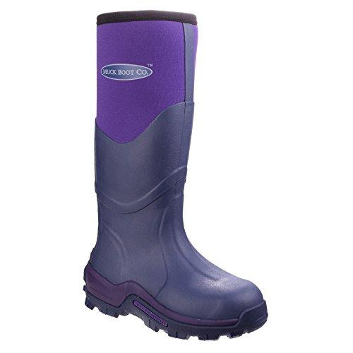 Muck Boots Greta Commerical Grade - Bottes de champs - Unisexe Violet