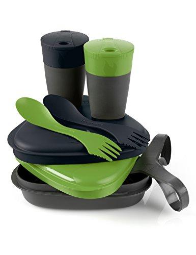 Light my Fire Pack'n Eat Ensemble de vaisselle de camping Vert/noir