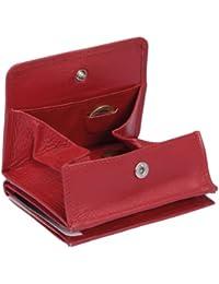 Wiener Schachtel LEAS in Echt-Leder, rot - LEAS Special Edition