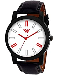 Wristocrat™ Artistic White Dial For Men's Wrist Watch - WCM37