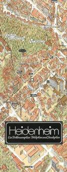 Stadtplan Heidenheim in 3D von Bollmann