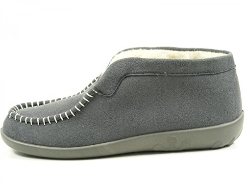 Rohde Ballerup 2236 Pantofole Donna Grau