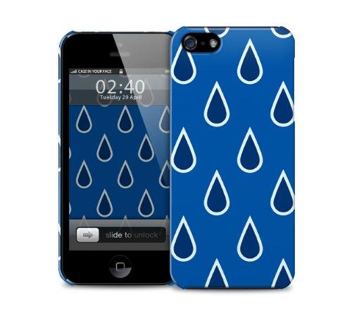 Preisvergleich Produktbild regen fŠllt iPhone 4 / 4S Kunststoff-Schutztelefon-Kastenabdeckung (Bild zeigt iPhone 5 Beispiel)