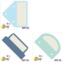 Toga dct20de Cos Index de troqueles Metal gris 5x 5x 0,2cm)