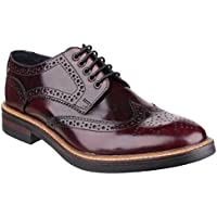 Base London Woburn Hi - Shine pizzo scarpe uomo