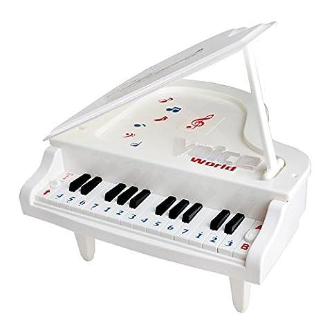 Fajiabao Jouet Piano Musical Petit Piano Instruments de Musique Clavier