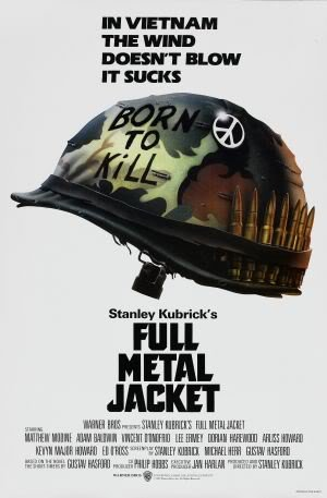 Import Posters Full Metal Jacket – Stanley Kubrick – US Movie Wall Poster Print – 30CM X 43CM
