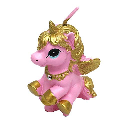 FitLit Vela ornamental de unicornio