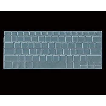 Saco Keyboard Protector Silicone Skin Cover for Lenovo G50-70 59-417086 15.6-Inch Laptop Transparent